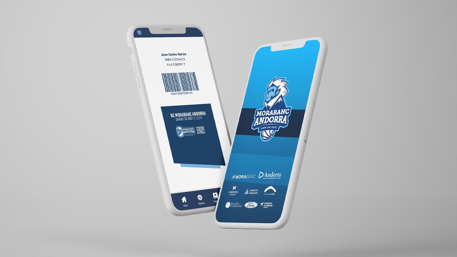 Diseño UX UI App BC Morabanc Andorra 1