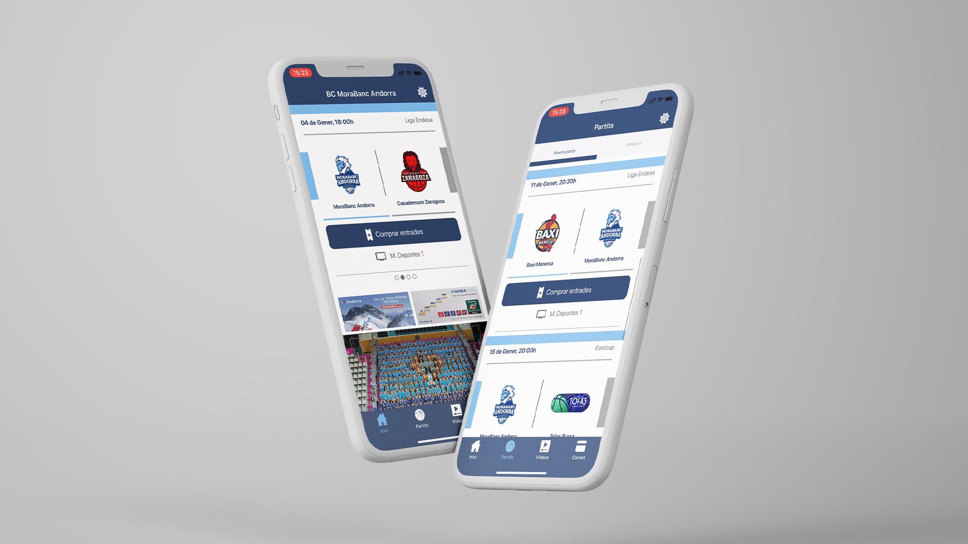 Diseño UX UI App BC Morabanc Andorra 2