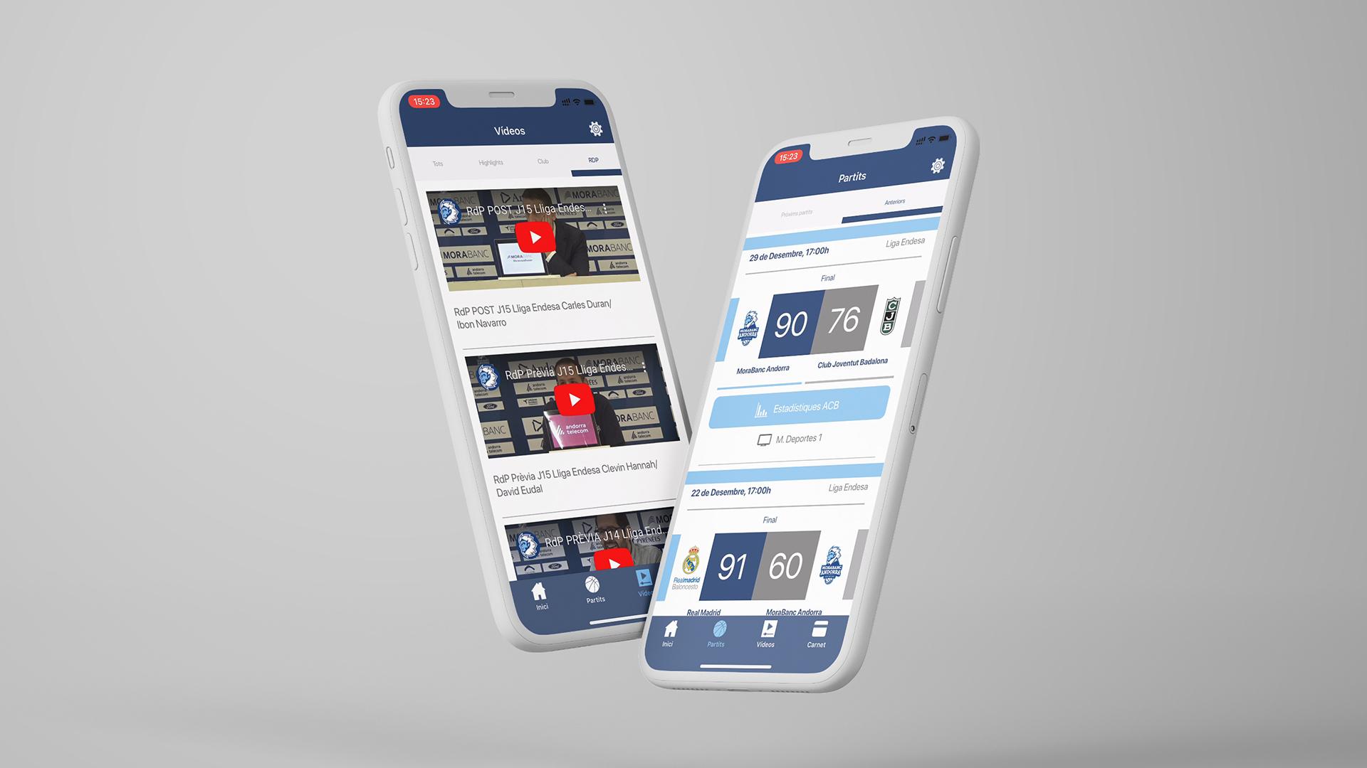 Diseño UX UI App BC Morabanc Andorra 3