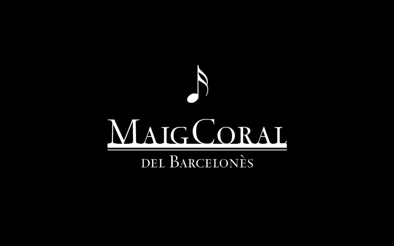 Logo. Diseño editorial e identidad corporativa Maig Coral del Barcelonès