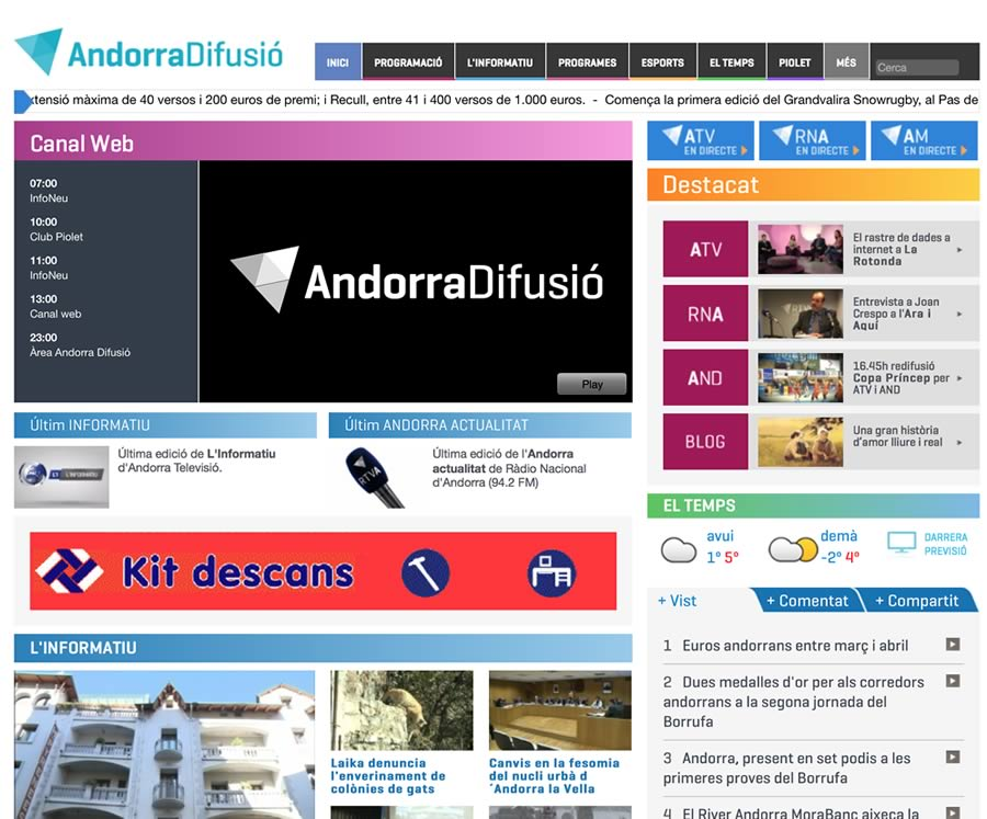 Andorradifusio.ad