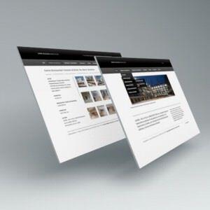 Pantallas. Diseño web Laviña de la Villa Arquitectura