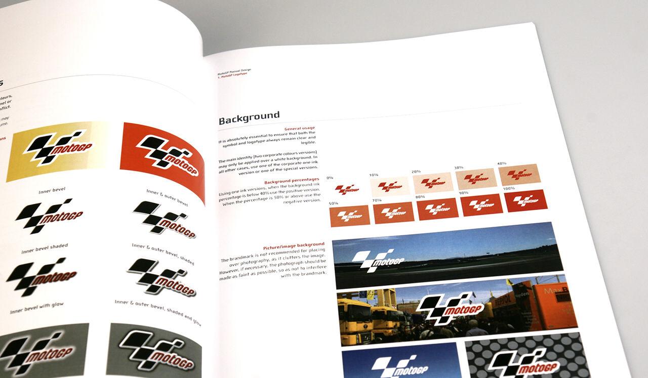 Manual de aplicación de marca MotoGP