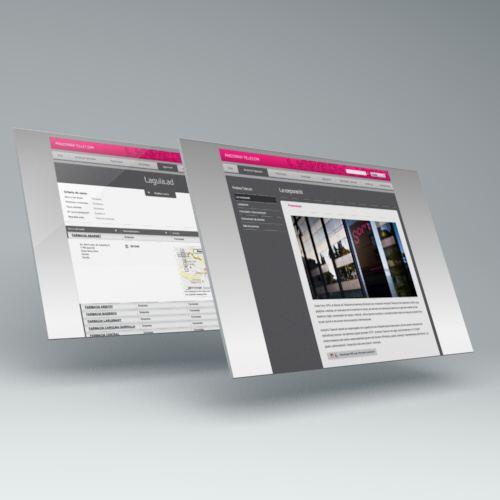 Diseño web Andorra Telecom