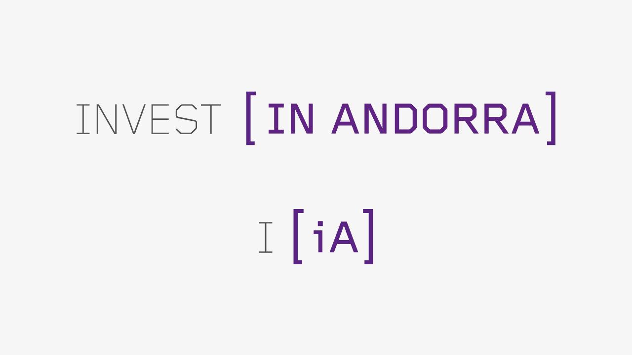 Diseño Identidad Invest in Andorra. Marcas