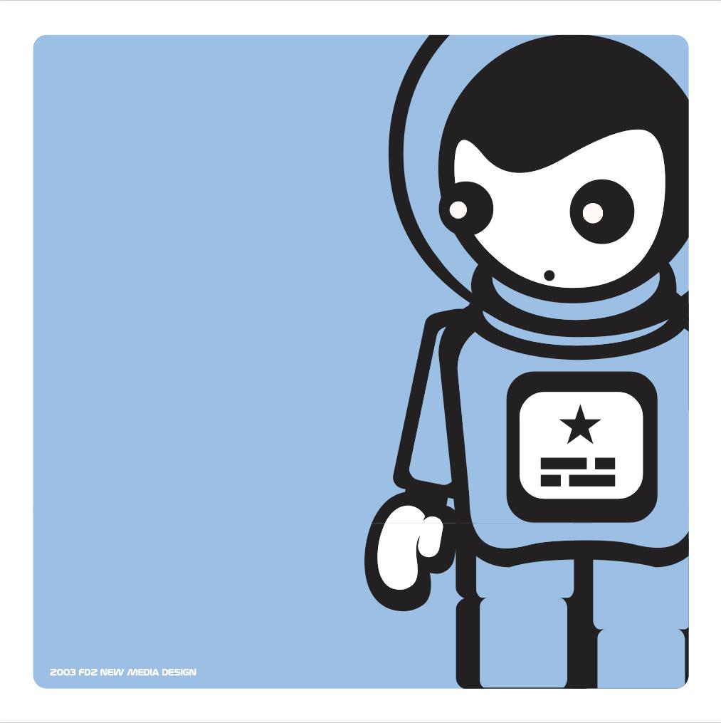 Diseño identidad corporativa Jolie Cosmonaute