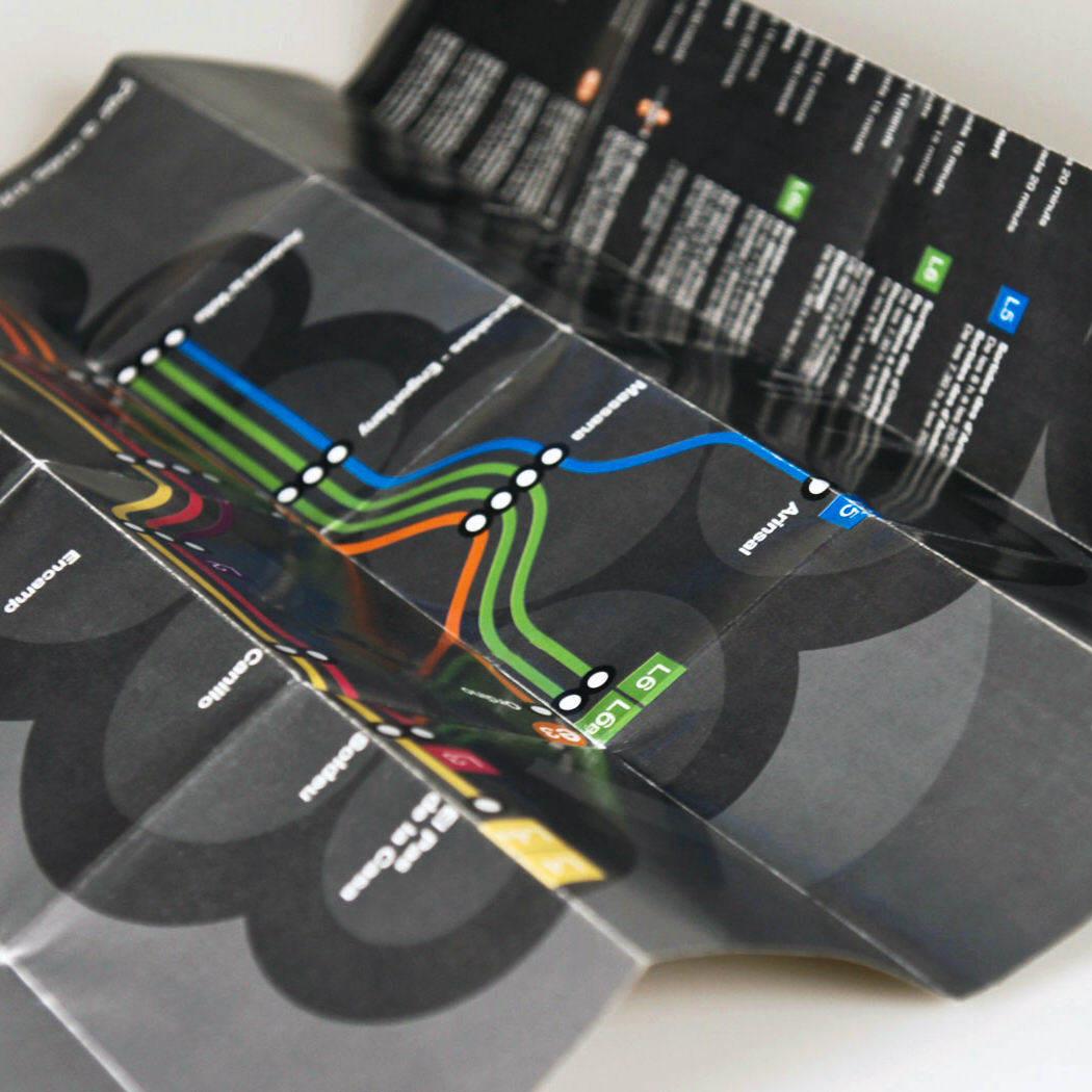 Detalle. Diseño Mapa Bus Andorra