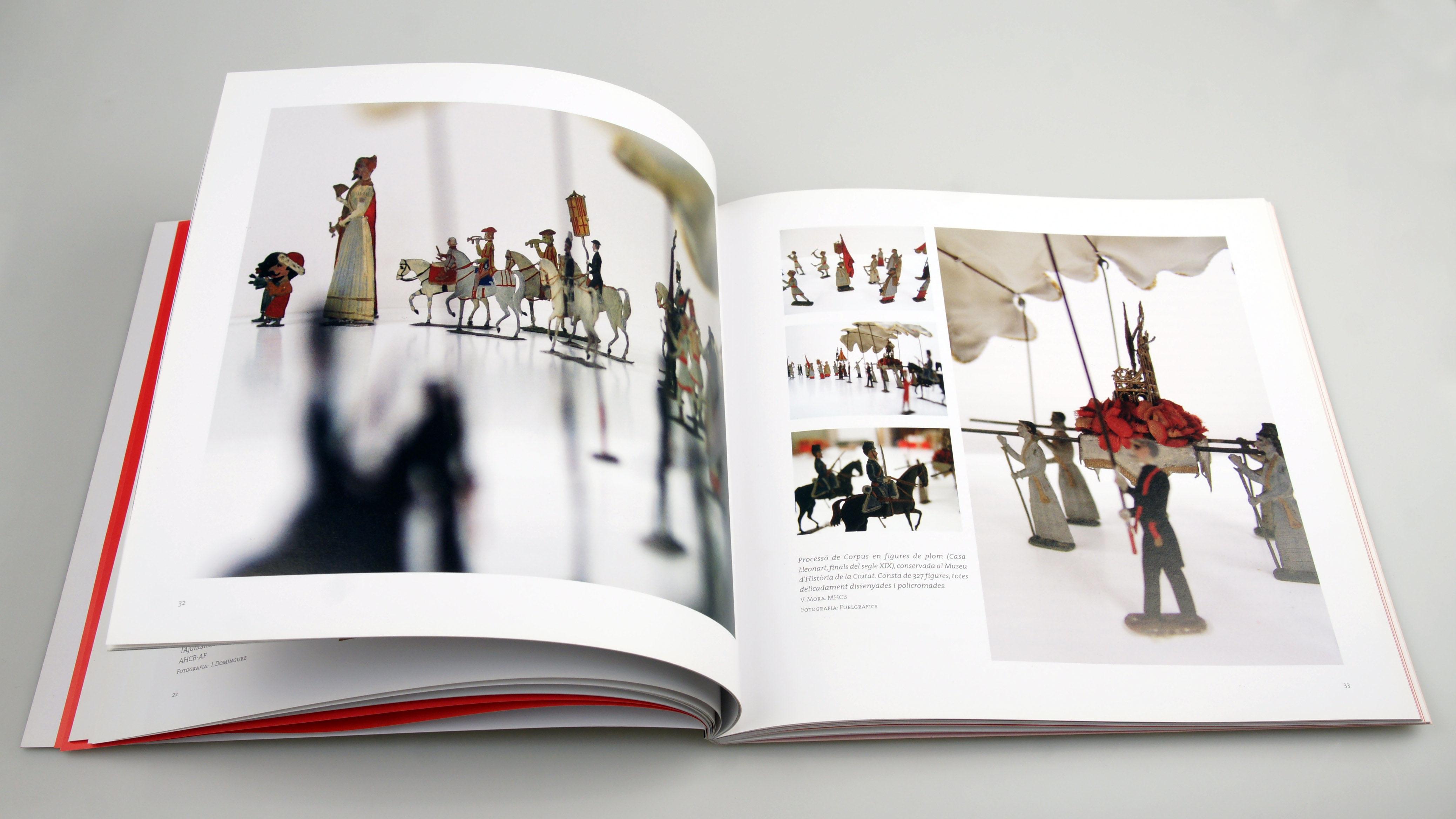 Doble página. Diseño editorial Libro El Corpus