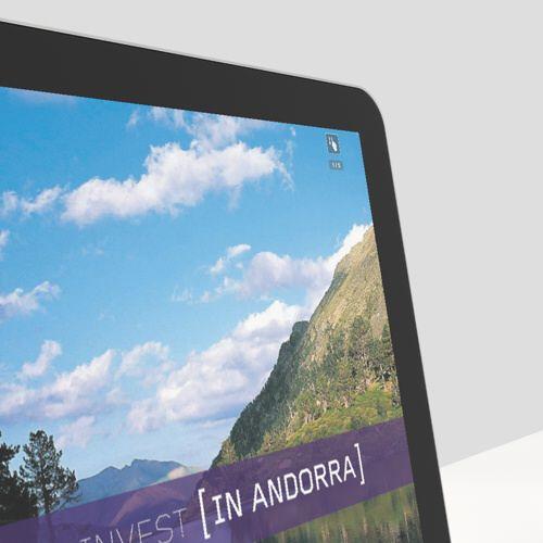 App Invest in Andorra. Detalle Pantallas