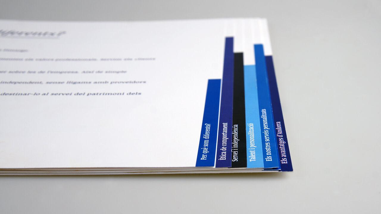 Diseño folleto Fimarge