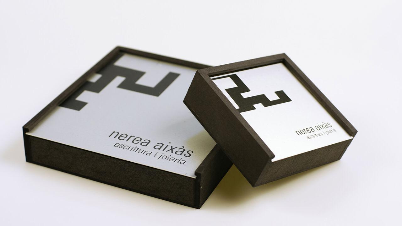 Packaging. Diseño Identidad Corporativa Nerea Aixàs