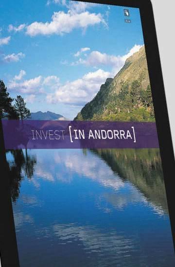 Diseño marca Invest in Andorra