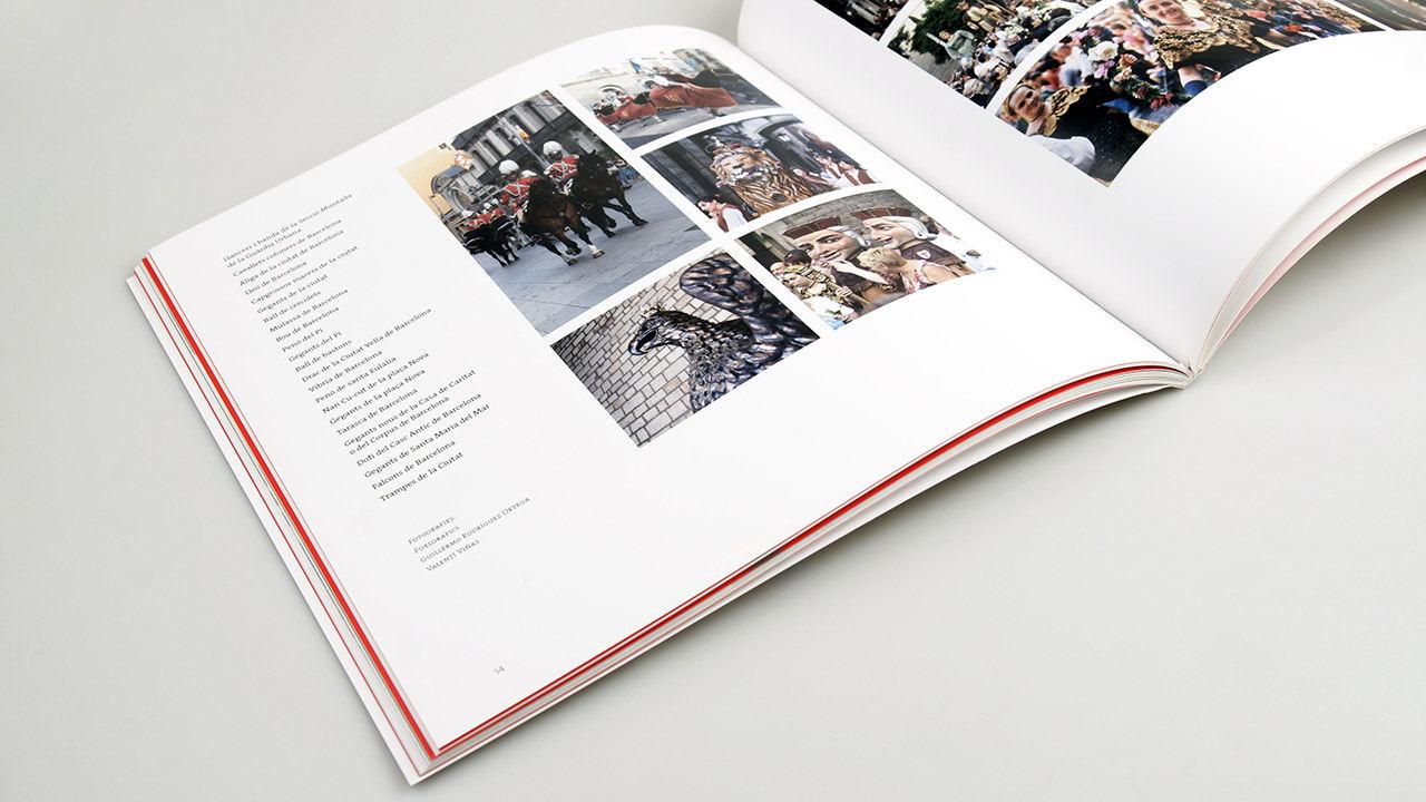 El corpus libro. Diseño editorial. Ajuntament de Barcelona
