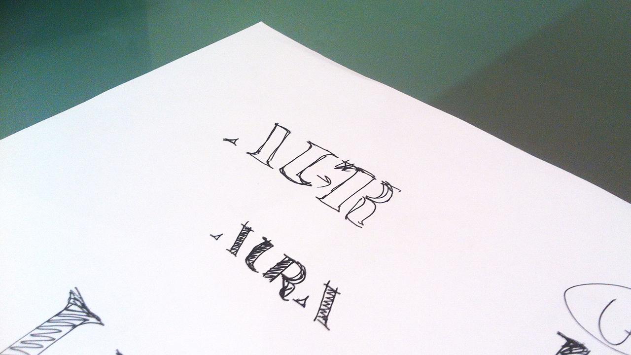 esbozo. diseño identidad corporativa. aura espai