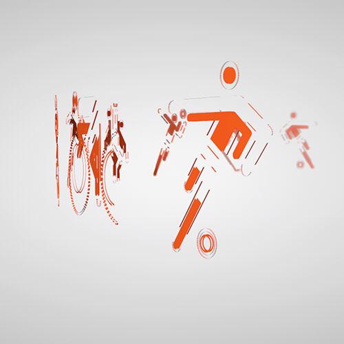 deportes. diseño motion graphics. rtva