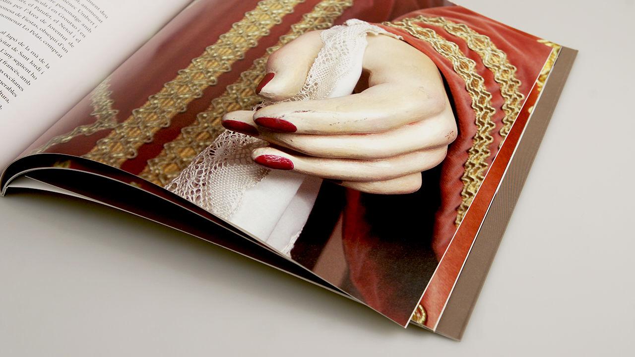 cent anys de gegants. diseño editorial. ajuntament de barcelona
