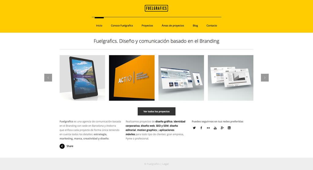 Nueva web de Fuelgrafivs