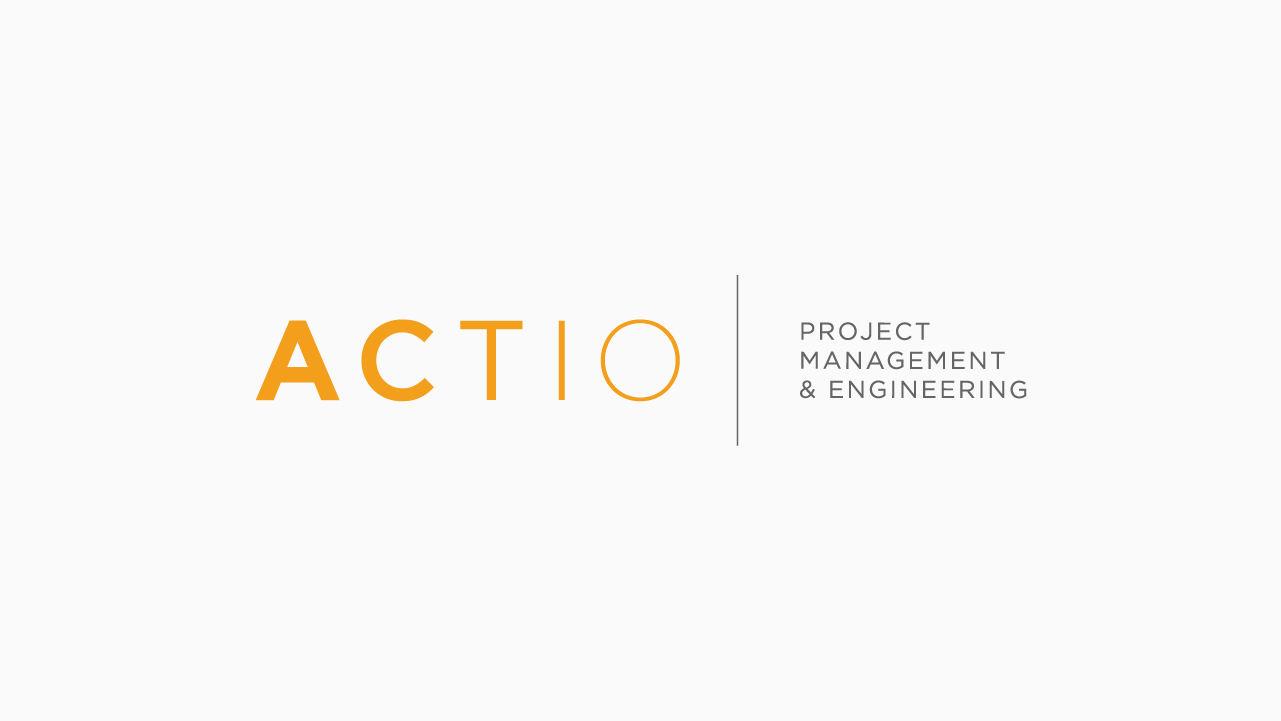 logotipo. diseño identidad corporativa. actio