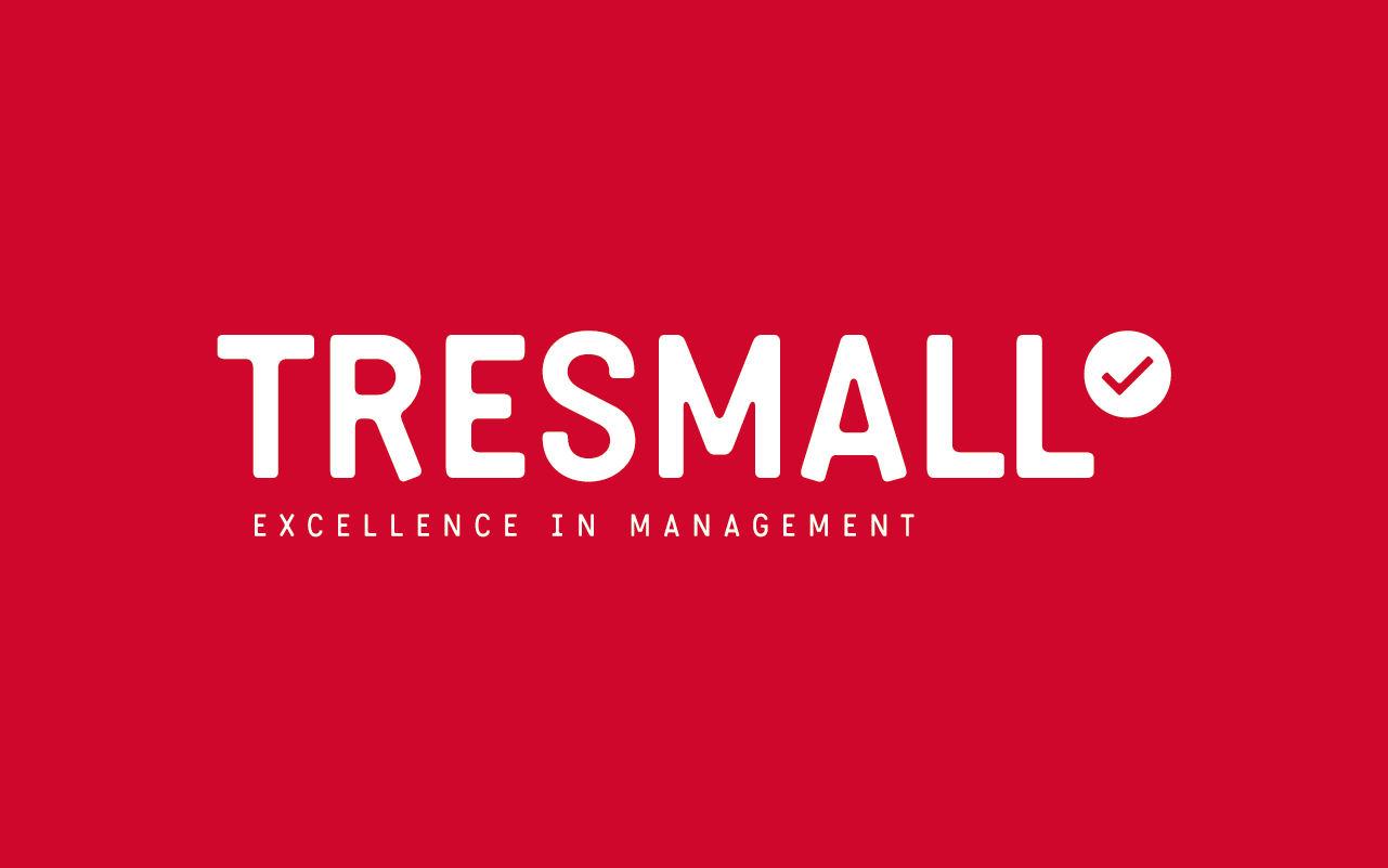 Logotipo. Diseño identidad corporativa. Tresmall