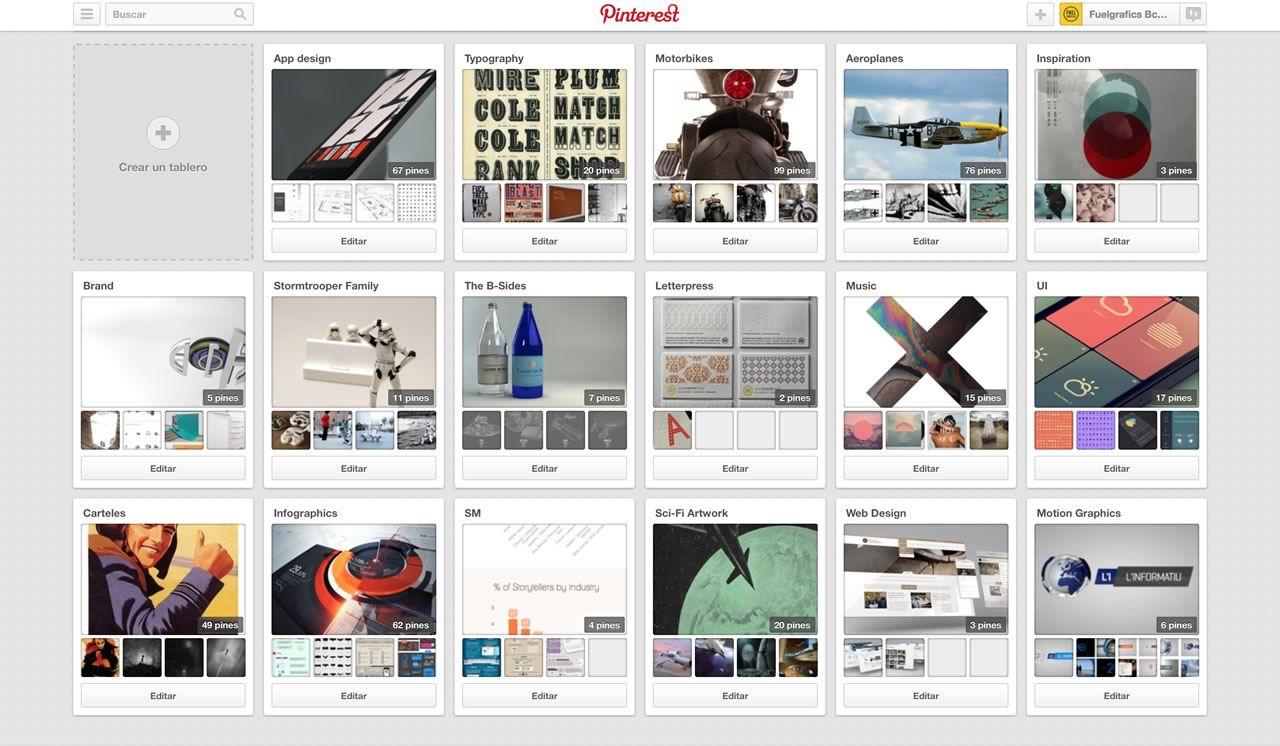 Fuelgrafics en Pinterest