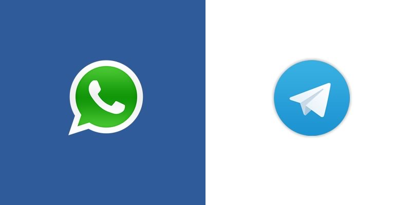 Facebook, WhatsApp y Telegram