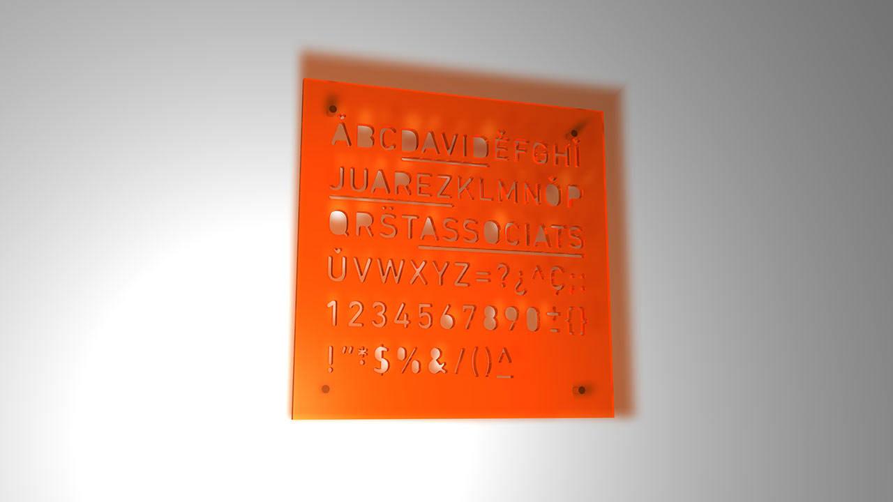 señaletica, david juárez associats, diseño gráfico