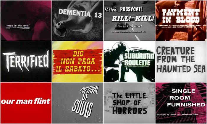 Títulos de películas de serie B de los años 60