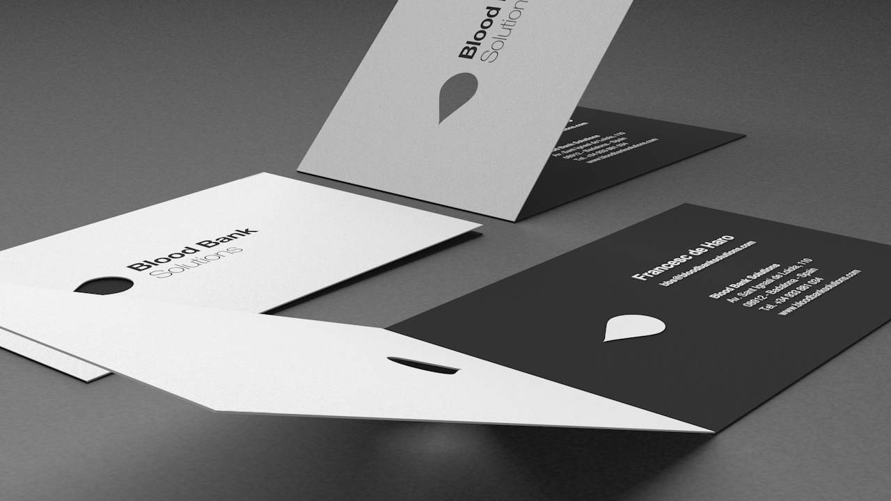 Diseño Marca e Identidad Corporativa Barcelona - Blood Bank Solutions