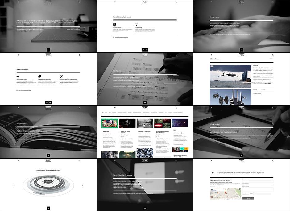 Diseño web FUEL Barcelona