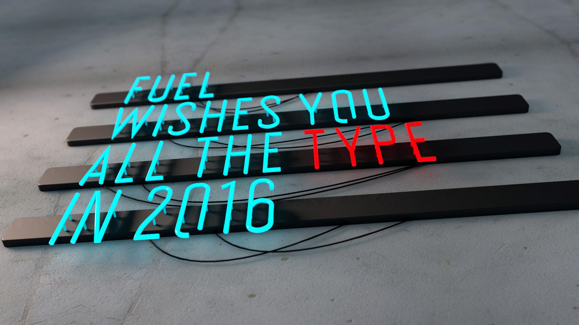 FUEL os desea lo mejor para 2016