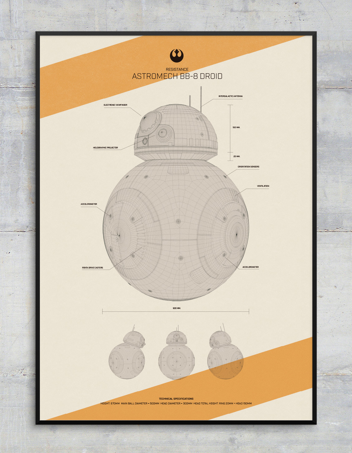 iseño carteles Star Wars The Force Awakens Special Edition