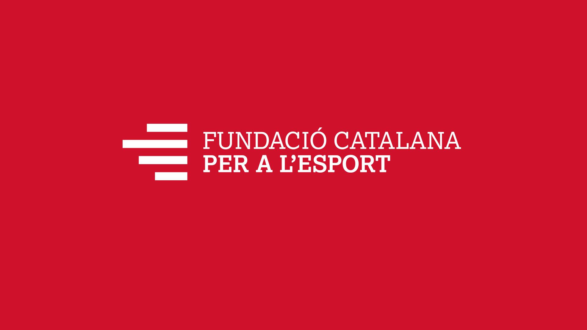 Diseño marca e identidad corporativa Fundació Catalana per a l'Esport - Marca