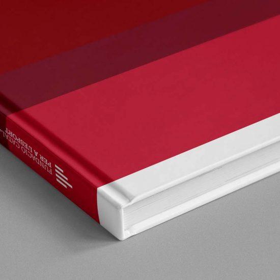 Diseño memoria anual Fundación Catalana per a l'Esport