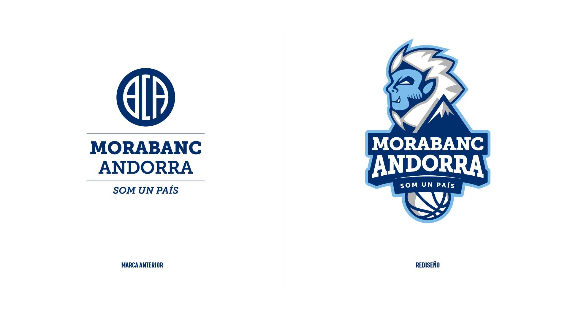Rediseño Marca e Identidad Corporativa Morabanc Andorra