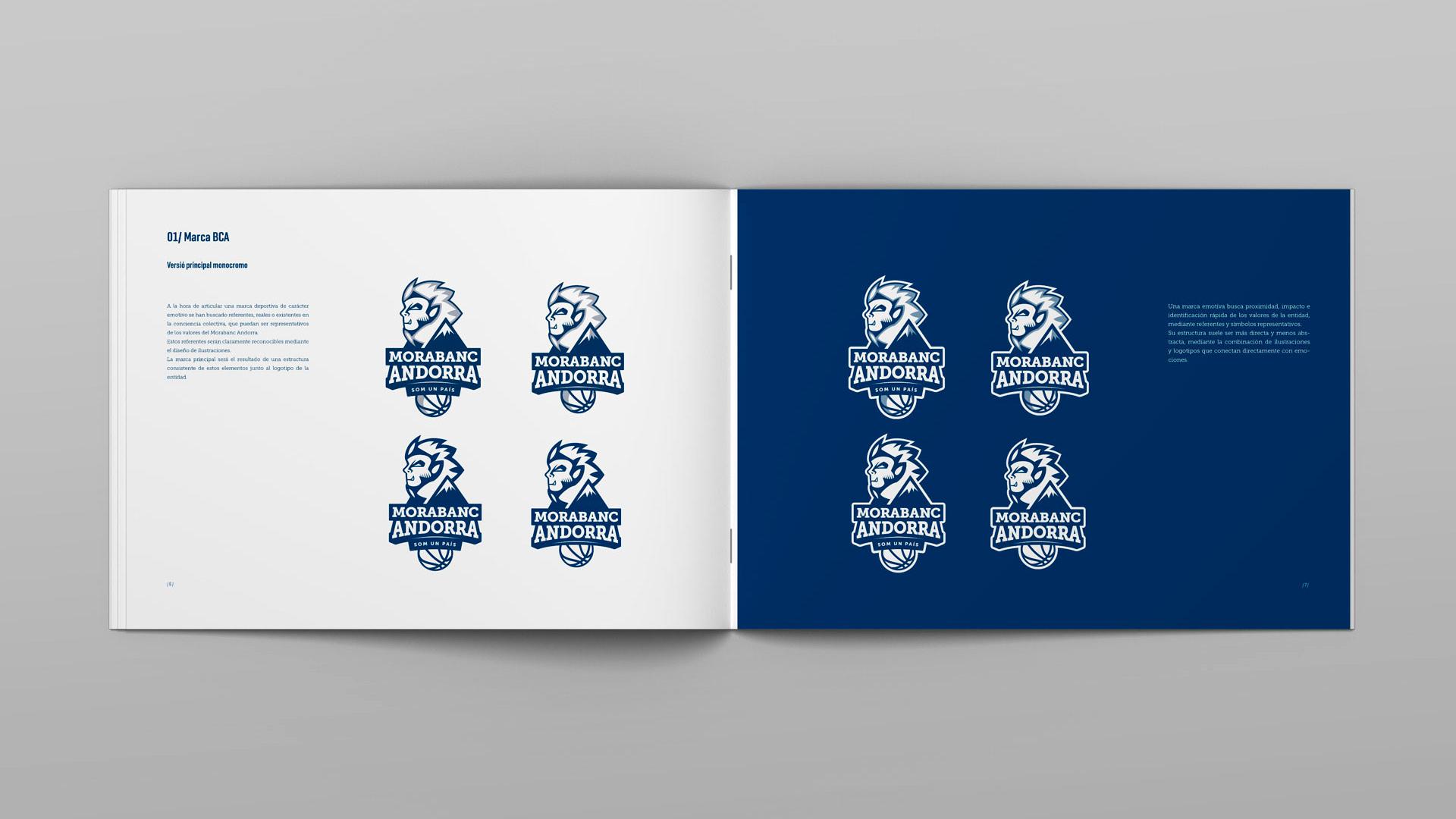 Rediseño Marca e Identidad Corporativa Morabanc Andorra - Manual