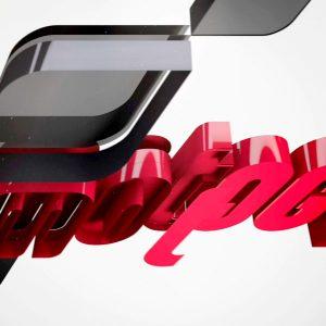 Diseño Motion Graphics Ident - MotoGP