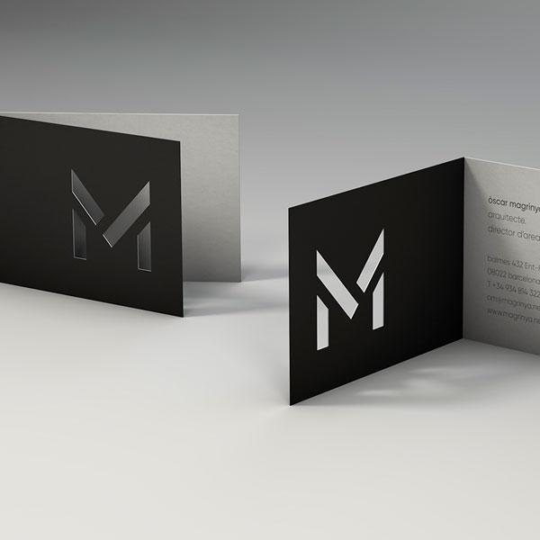 Diseño Marca e Identidad Corporativa Barcelona Magrinyà -