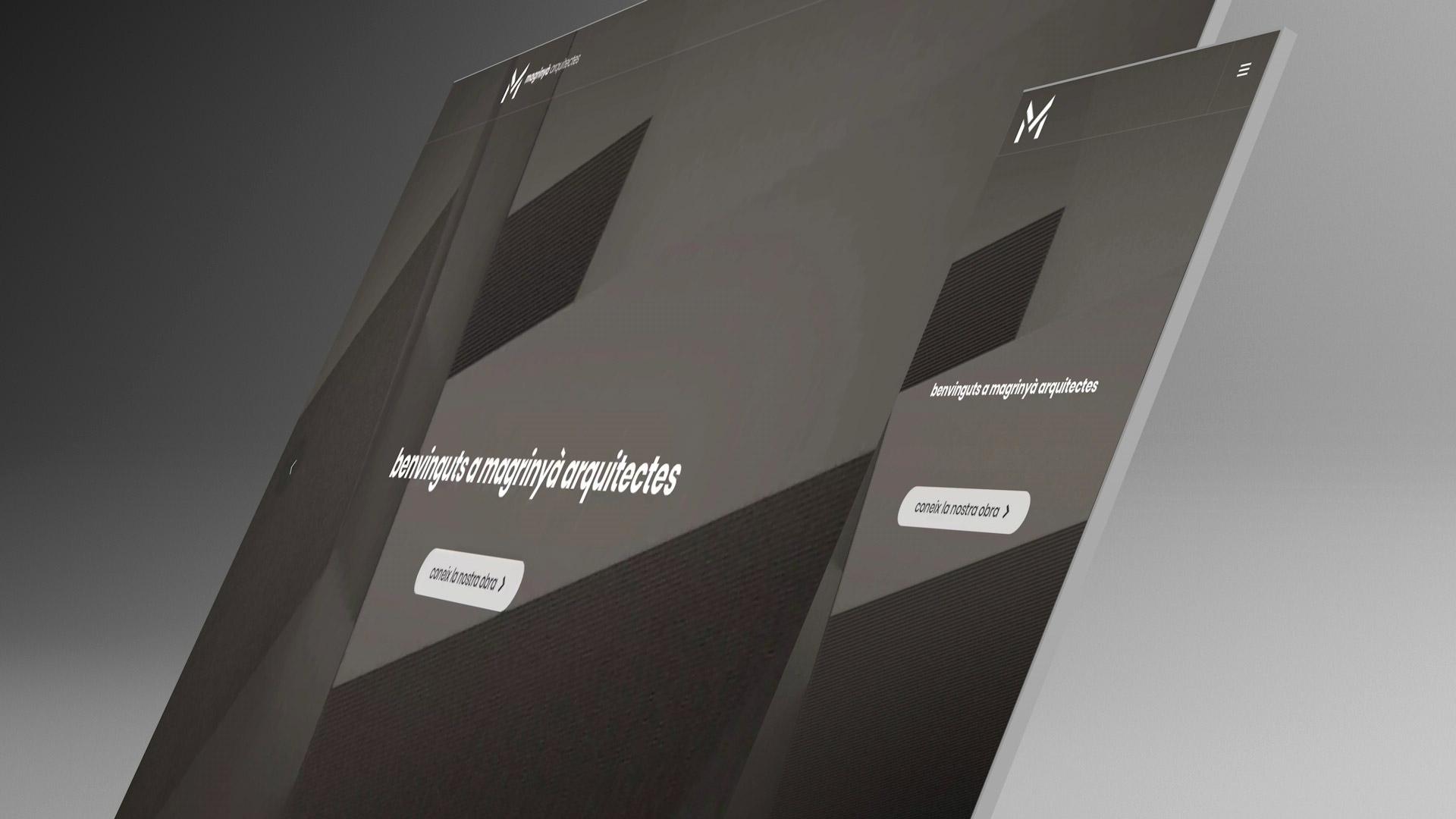 Diseño web Magrinyà Arquitectes Barcelona