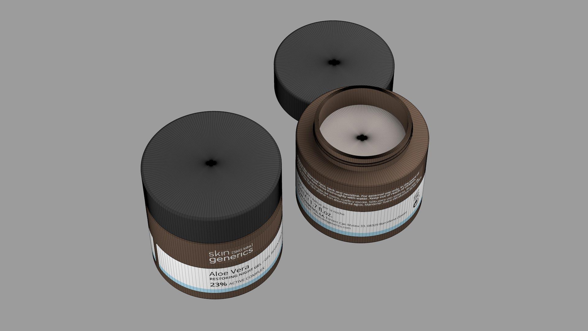 Diseño packaging 3D fotorealista. Diego Fernández Brand & Motion Design