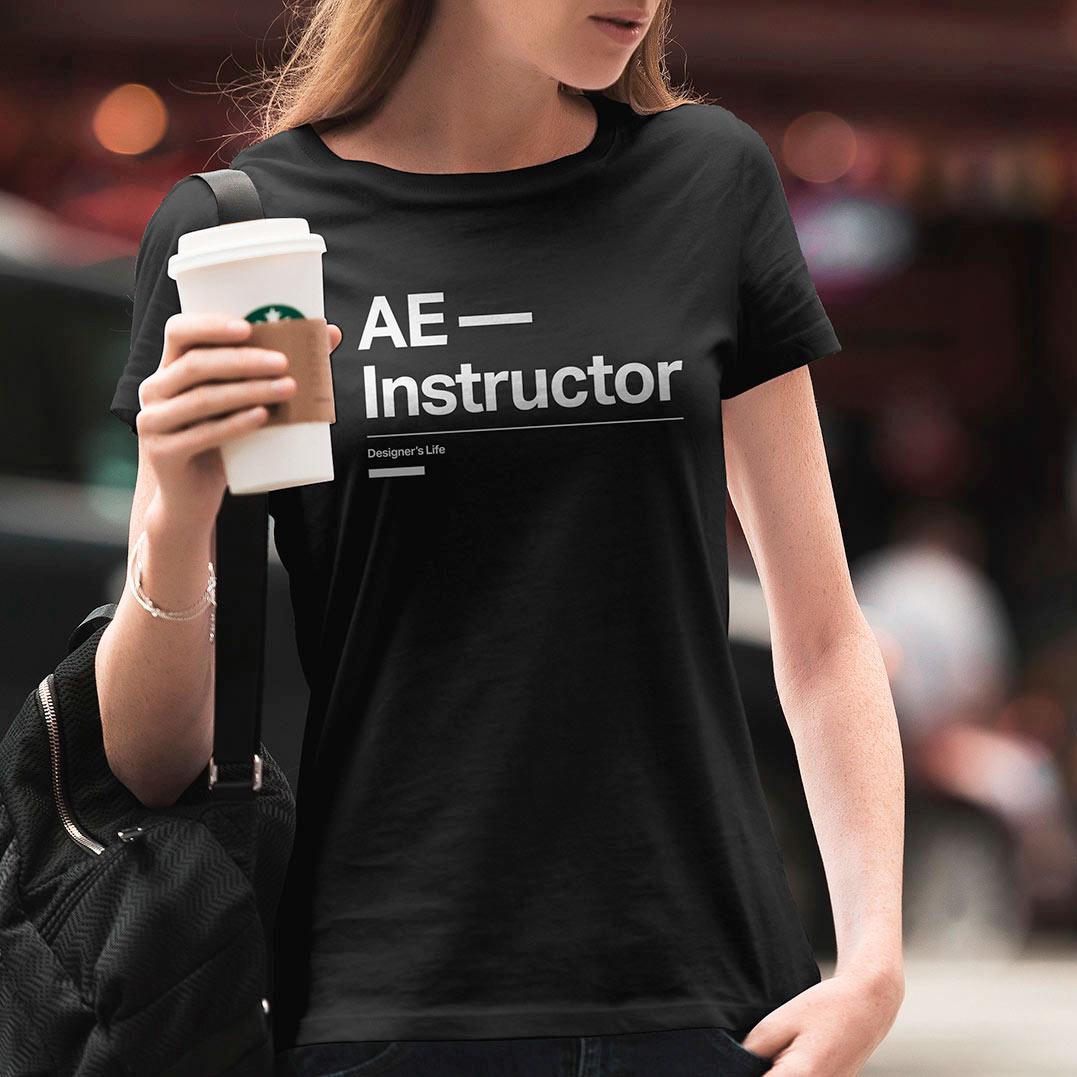 Diseño T-Shirt Tipográfica