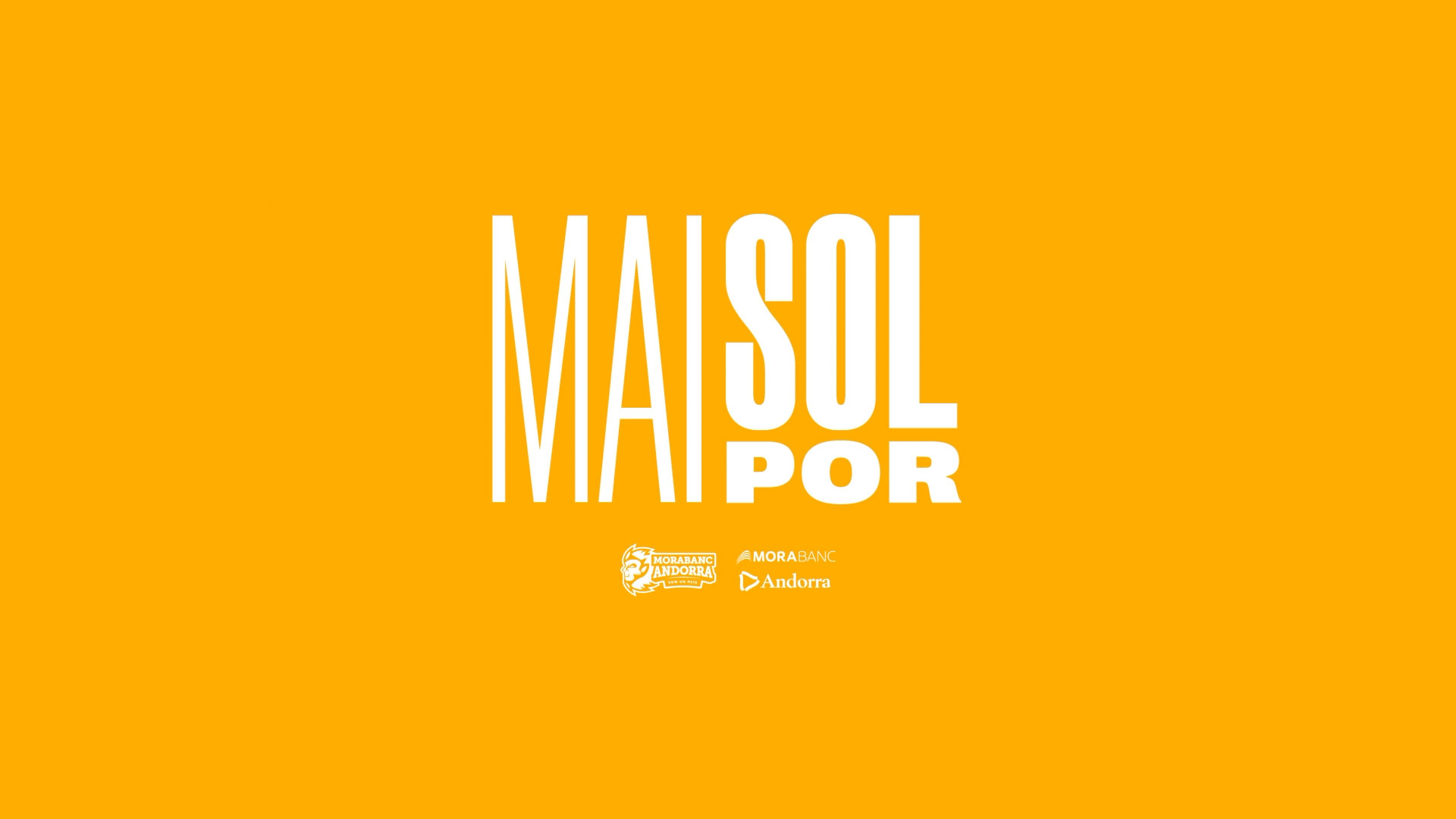 Diseño Marca Motion graphics Barcelona Campaña 20/21 Mai Sol