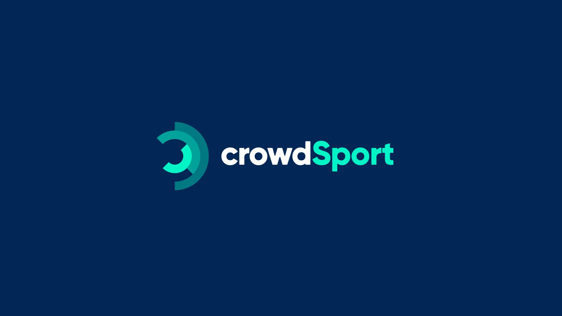Diseño marca e identidad corporativa Crowd Sport - Marca principal