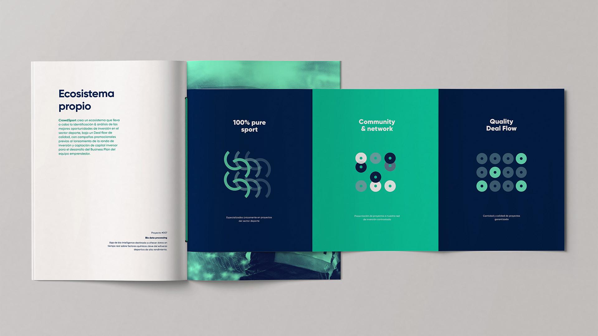 Diseño marca e identidad corporativa Crowd Sport - brochure3
