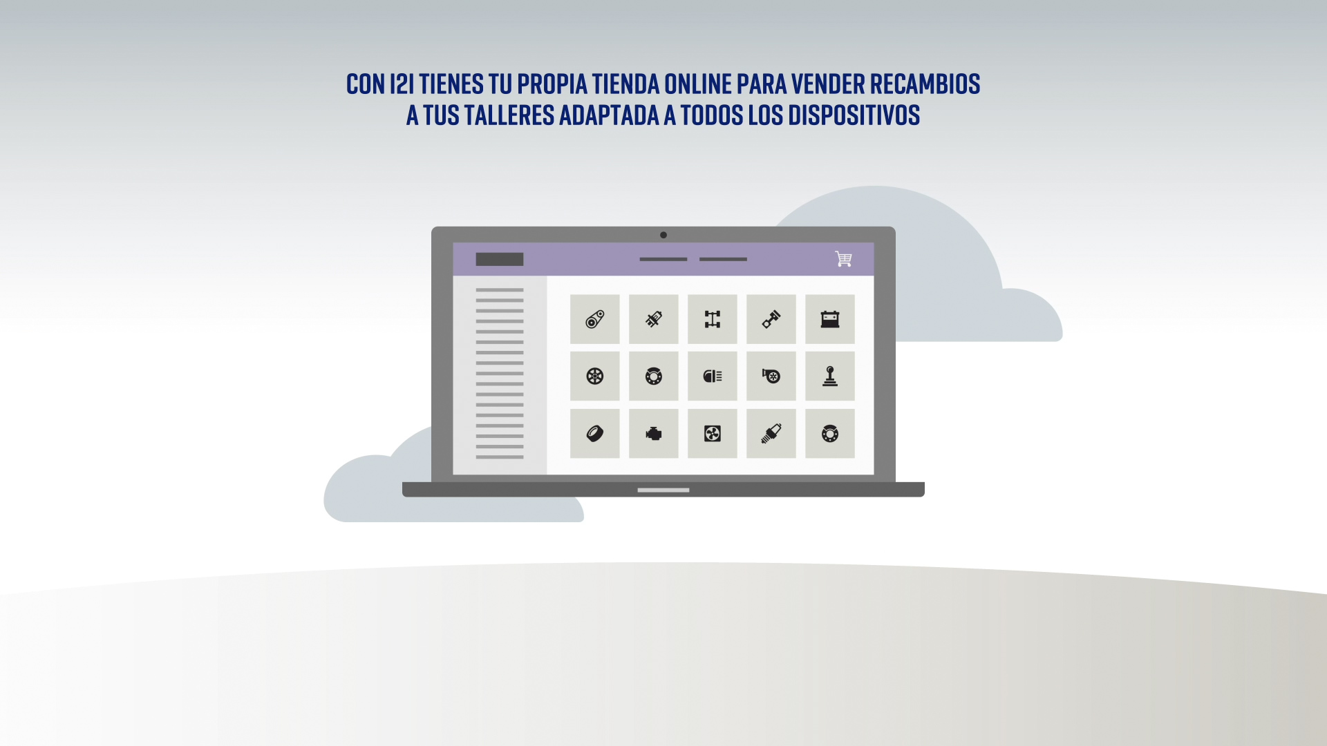 Diseño motion graphics vídeo corporativo i2i
