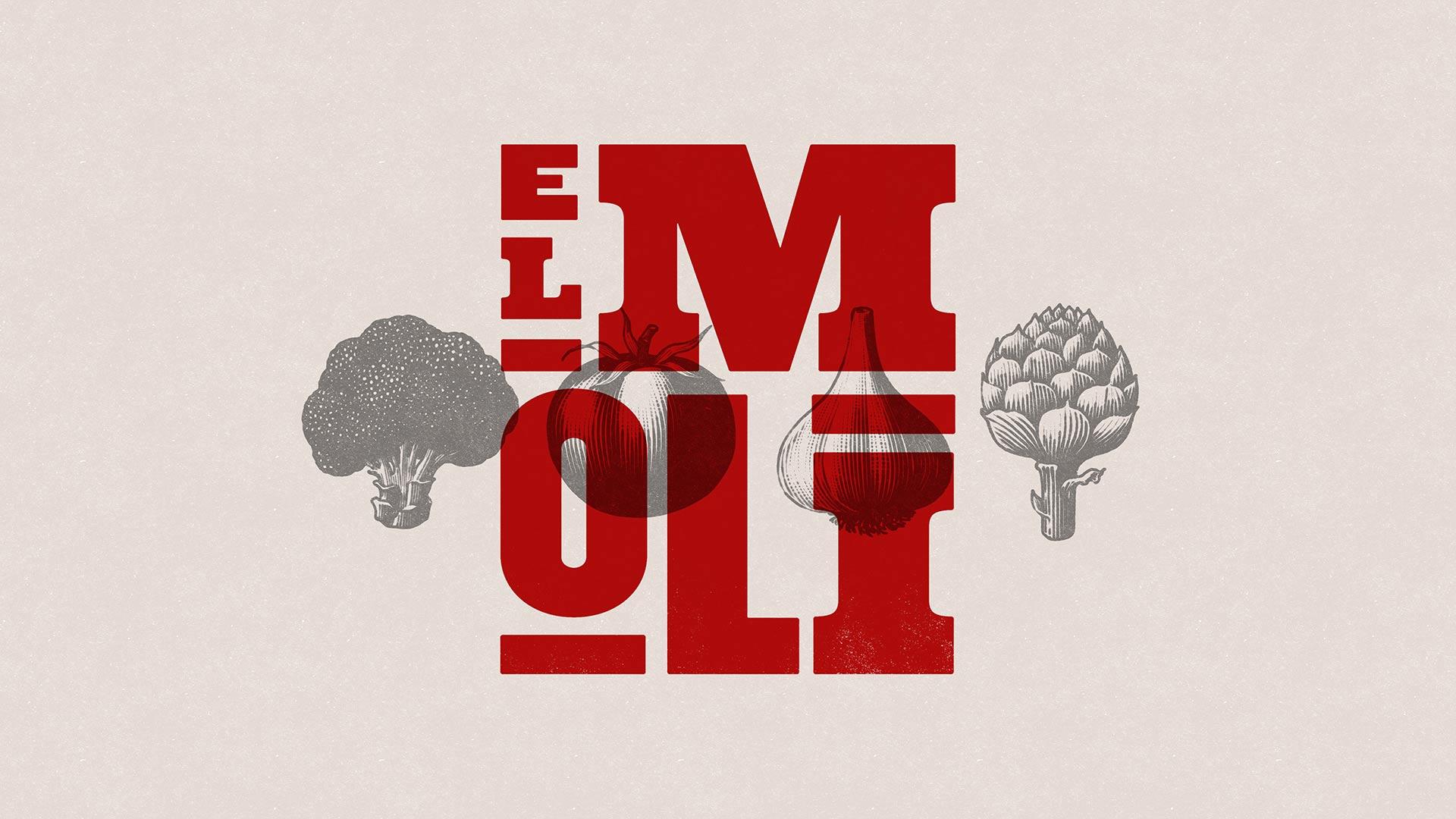Diseño de marca y motion graphics El Moli3