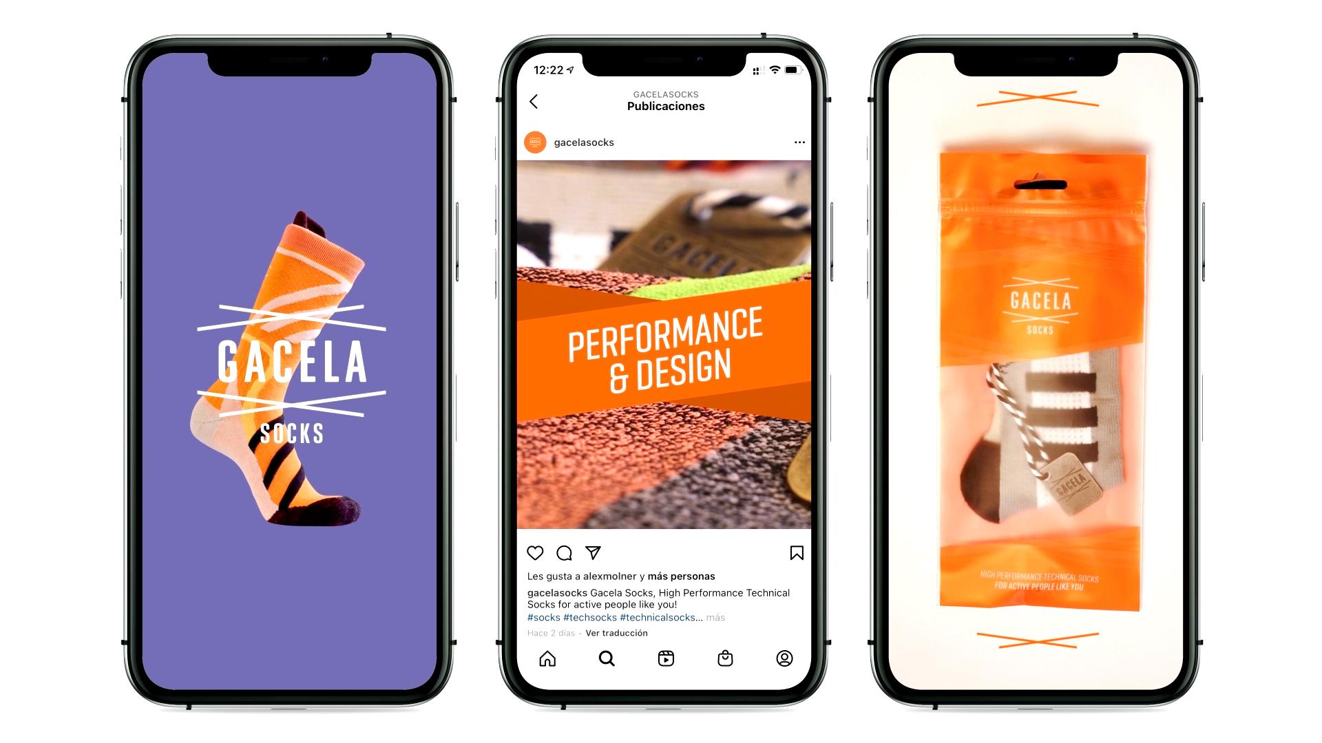 Diseño Marca y Motion Graphics Barcelona - Gacela - Vídeo Social Media 2